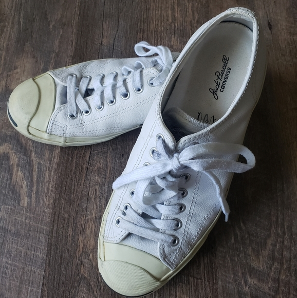 Converse Jack Purcell Gold Standard Leather Shoes